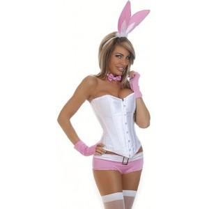 5 PC Pink Bunny Tuxedo
