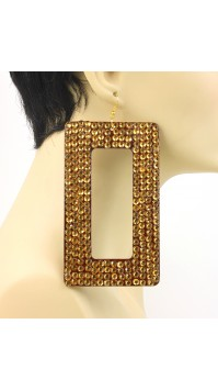 Gold Rectangle Crystal