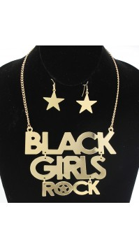 Black Girls Rock Necklace