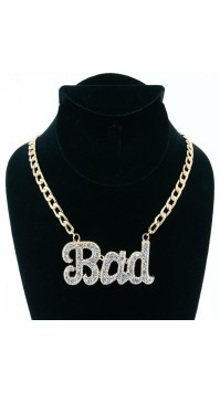 Bad Pendant Necklace