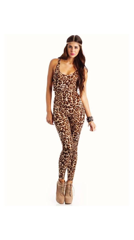 kdc girls ladies leopard or tiger animal print long sleeve footless catsuit unitard. Item Code: KDC Animal Print. Girls Ladies Leopard Or Tiger Animal Print Dance Long Sleeve Catsuit/Unitard.