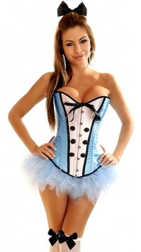 4 PC Sexy Alice Costume
