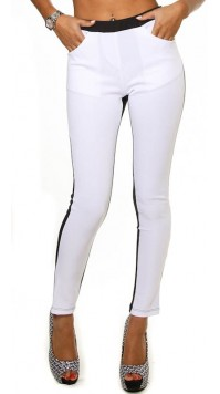 Two Tone Front Pocket Leggings