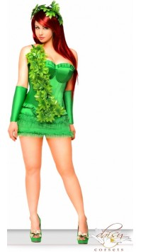 "4 PC Sexy ""Ivy Vixen"" Costume"