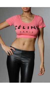 Celine Crop Top