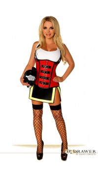 Five Alarm Fire Girl Costume