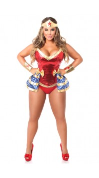 4 PC Superhero Corset